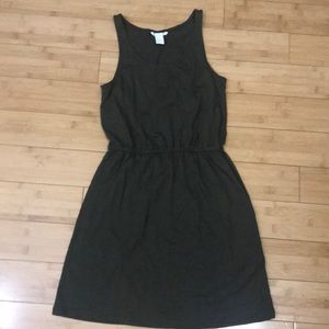 H&M Basic Olive Dress